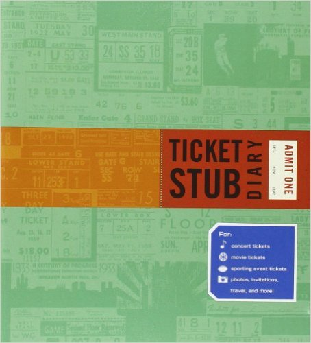 Ticket Stub Scrapbook