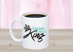 Something Corporate Garage Band King Mug
