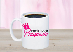 Something Corporate Punk Rock Princess Mug
