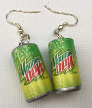 Mountain Dew earrings